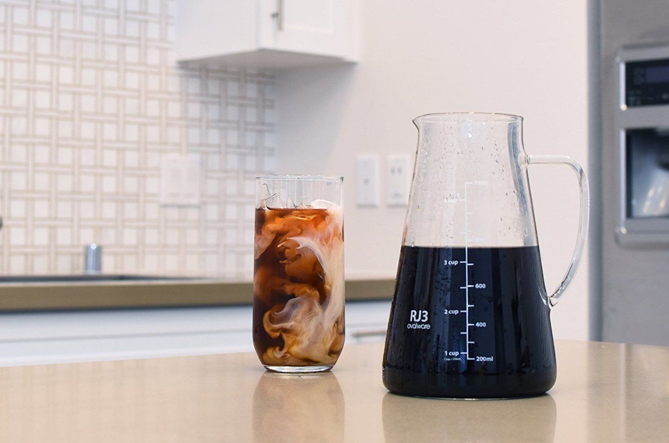 Ovalware Airtight Cold Brew Coffee Maker 187 Gadget Flow
