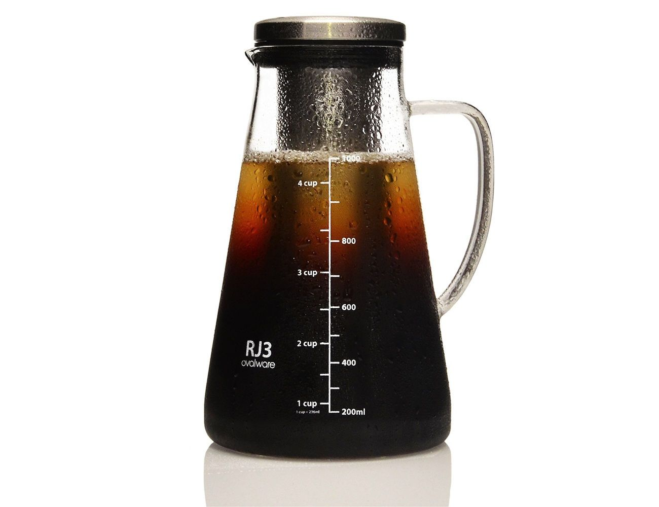 ovalware Airtight Cold Brew Coffee Maker