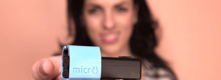 MICRO Is the Smallest Universal Travel Adapter in the World