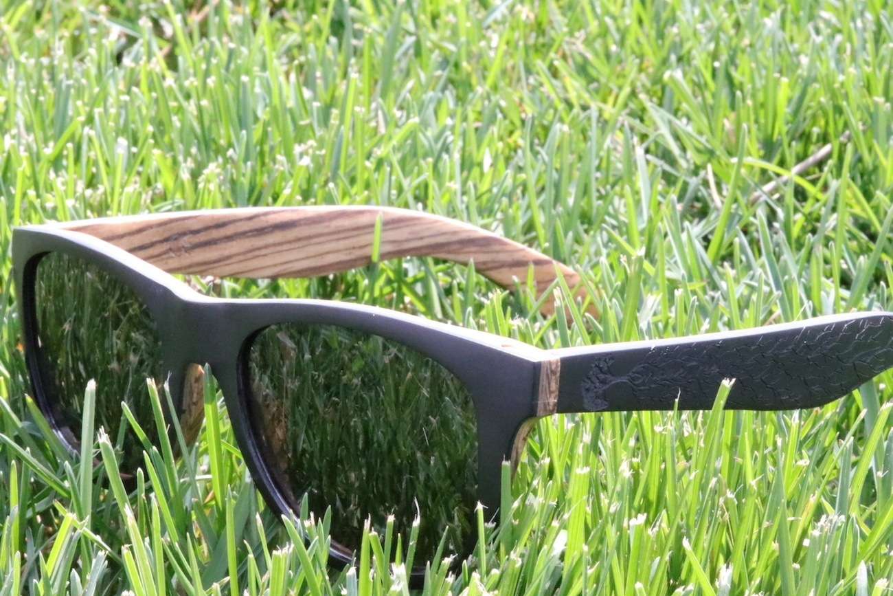 welcome summer wood sunglasses