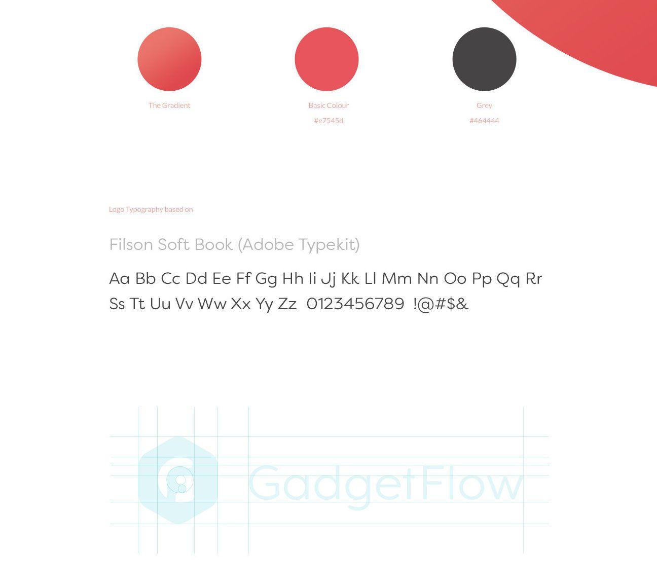 gadget flow logo branding identity