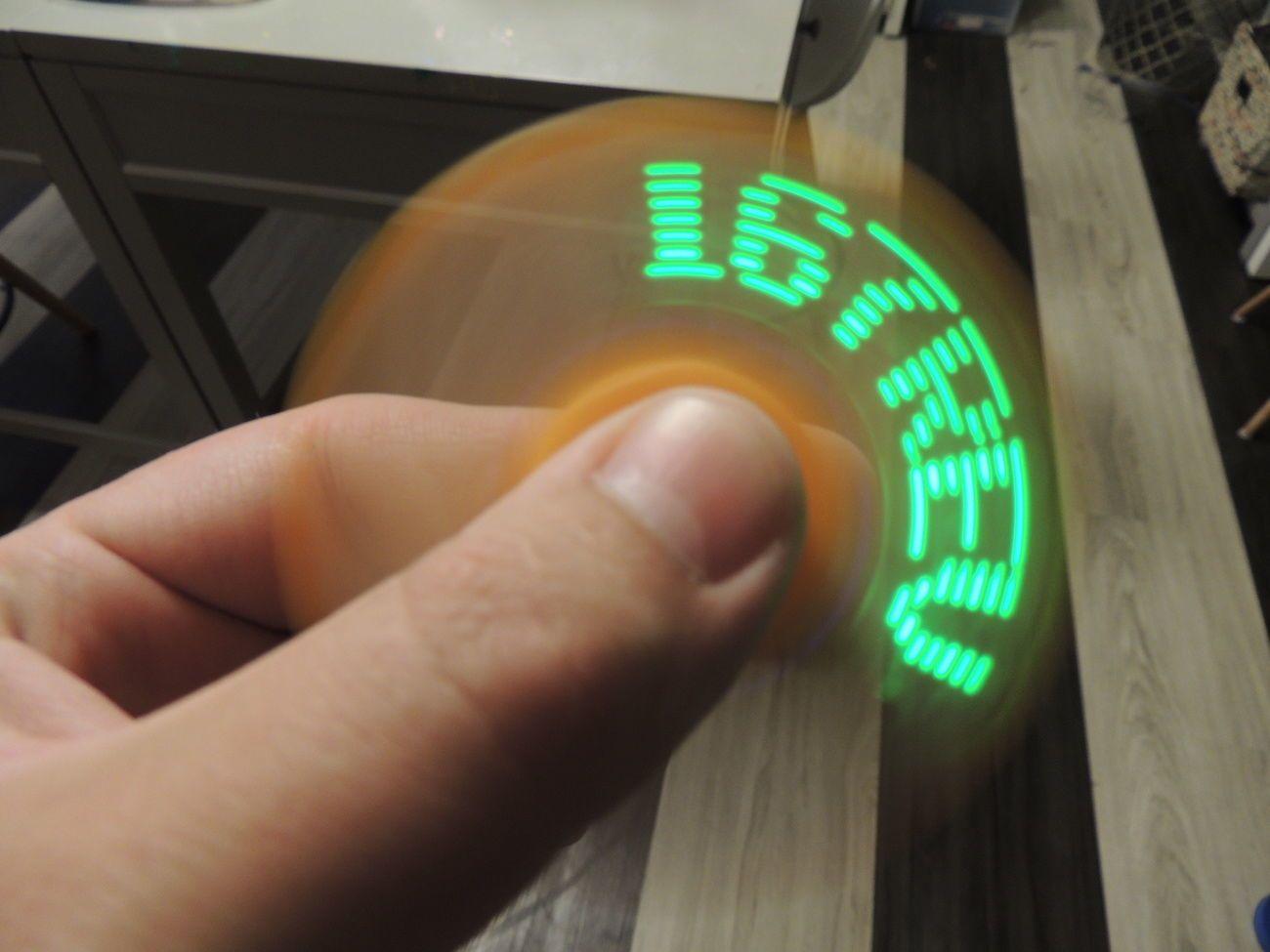 Air-Scribe Programmable Fidget Spinner