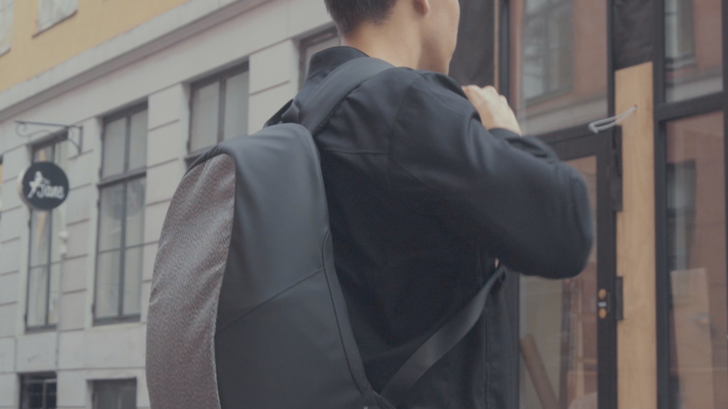 Albert Lockable Anti-Theft Backpack