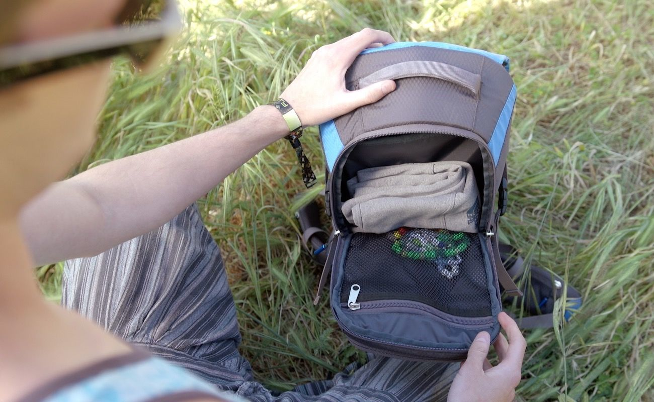 Baserock Bass-Frequency Hydration Backpack