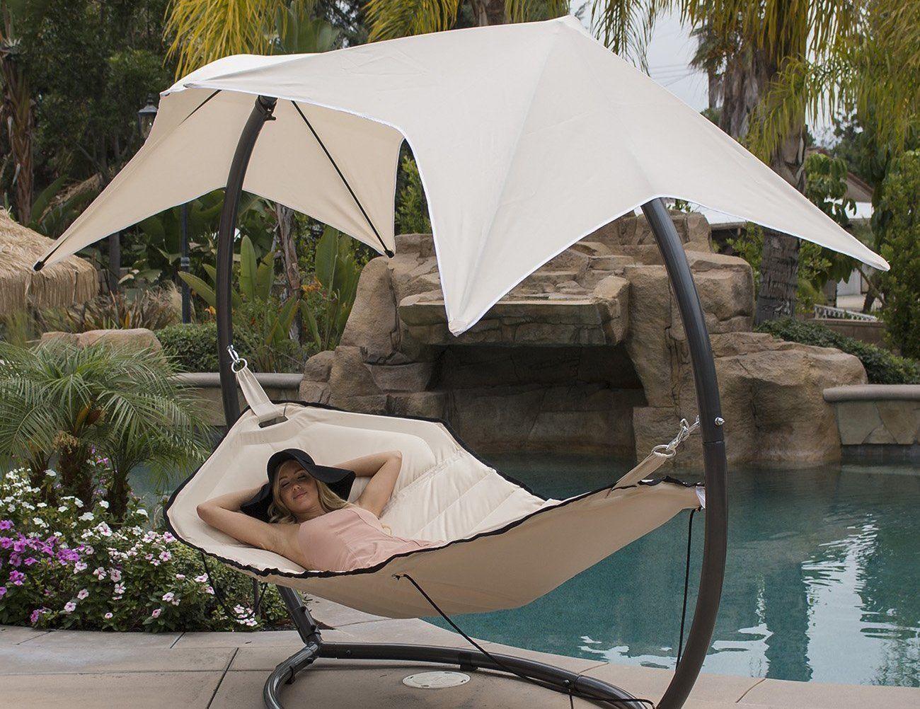 belleze hammock canopy lounger     belleze hammock canopy lounger    gadget flow  rh   thegadgetflow
