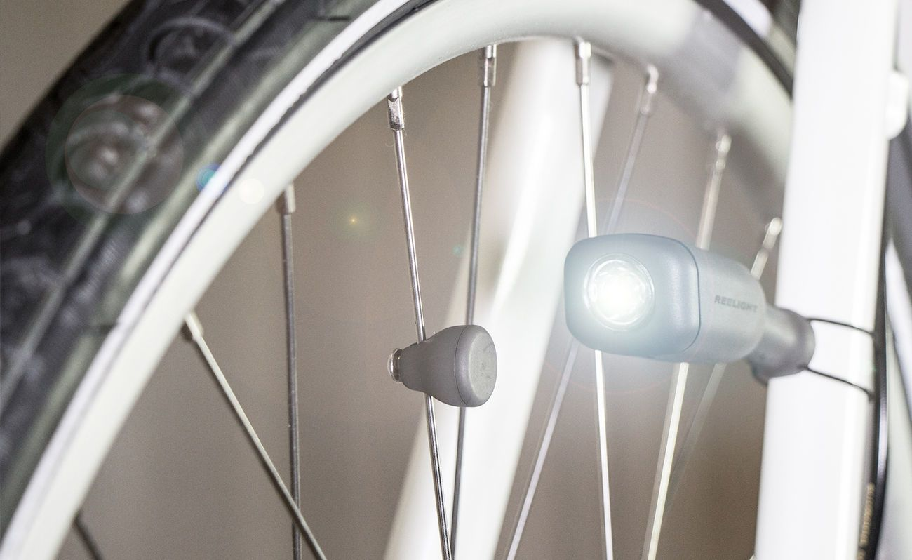 CIO Battery-Free Bike Light