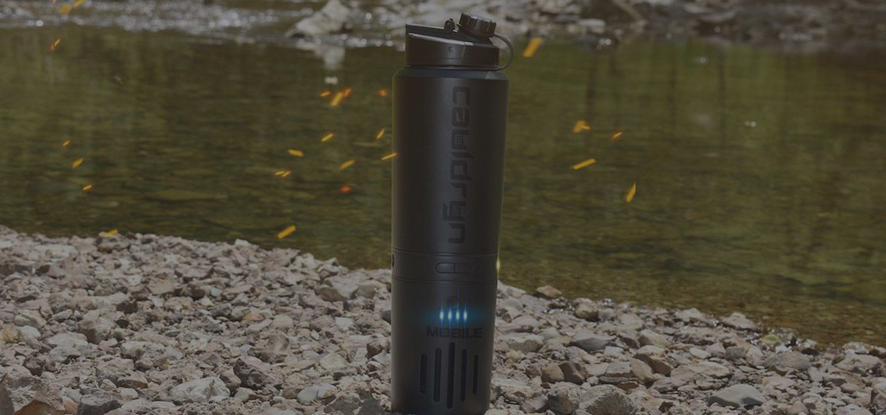 Cauldryn is the Future of Smart Water Bottles