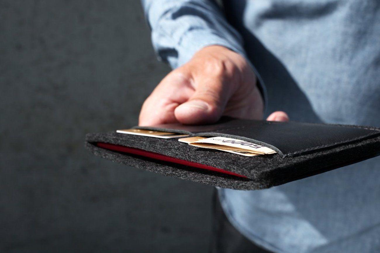 Cocones Leather Passport Wallet