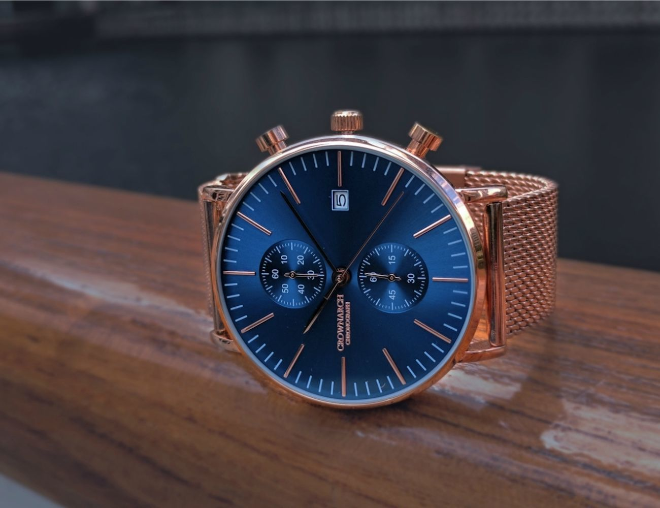 Crownarch Chronograph Watch Collection