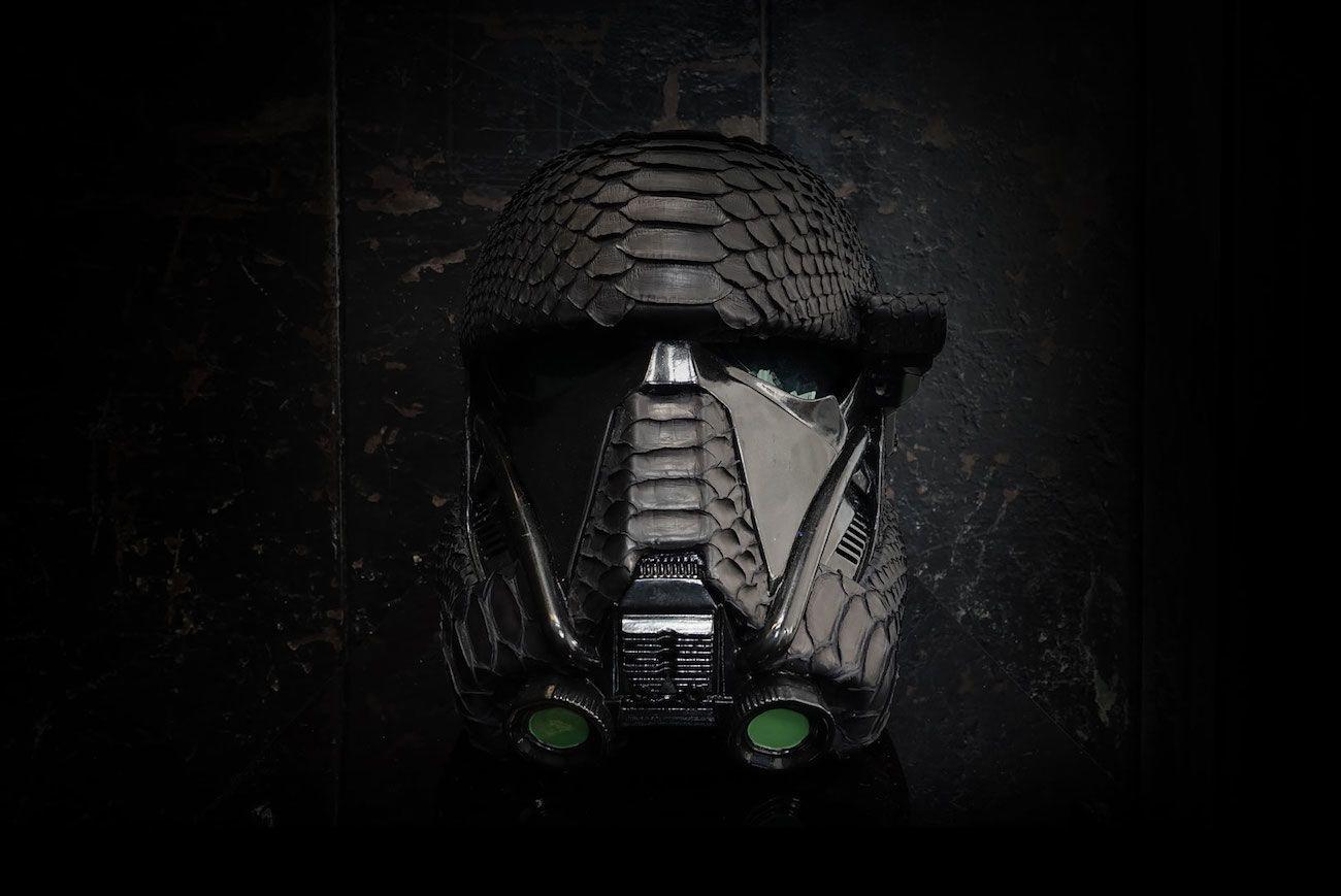 Death Trooper Python Helmet