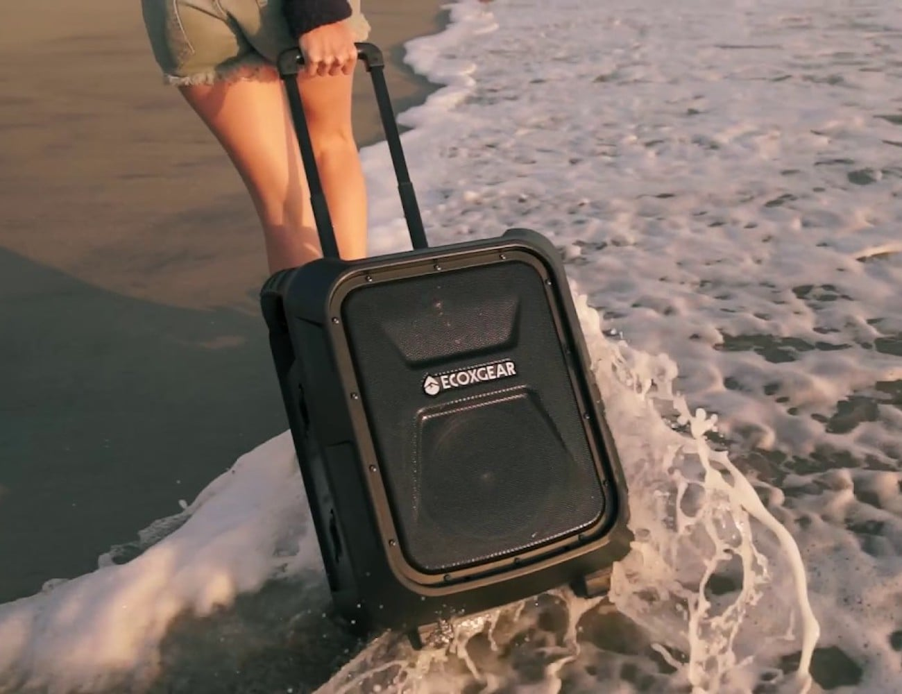 EcoBoulder Portable Waterproof Speaker