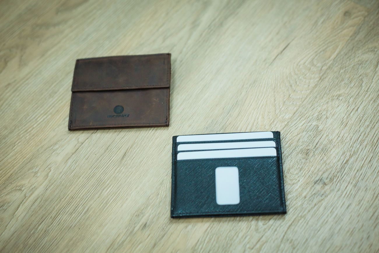 Ed Small Minimalist Coin Wallet