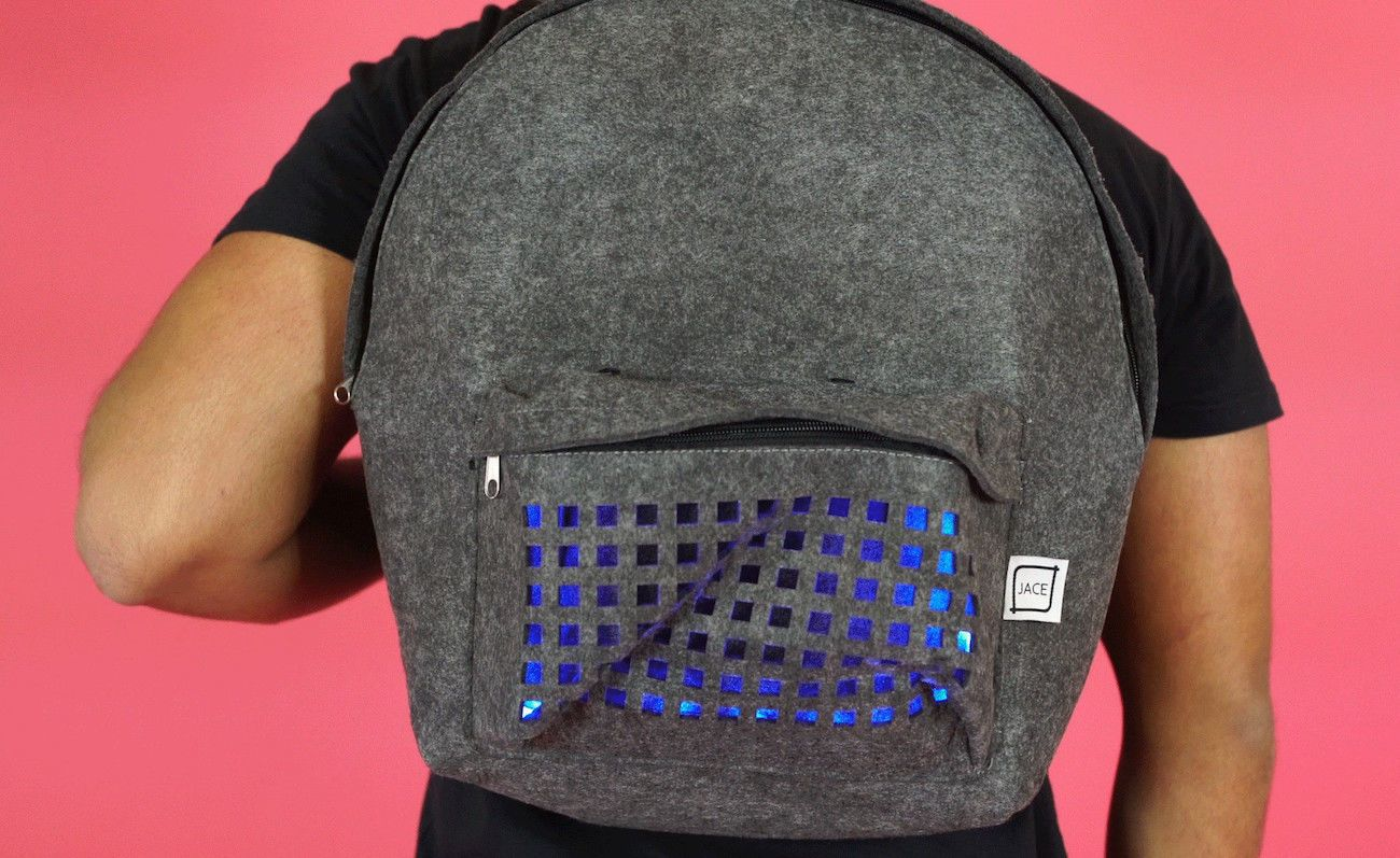 Flashy Backpack LED Bag