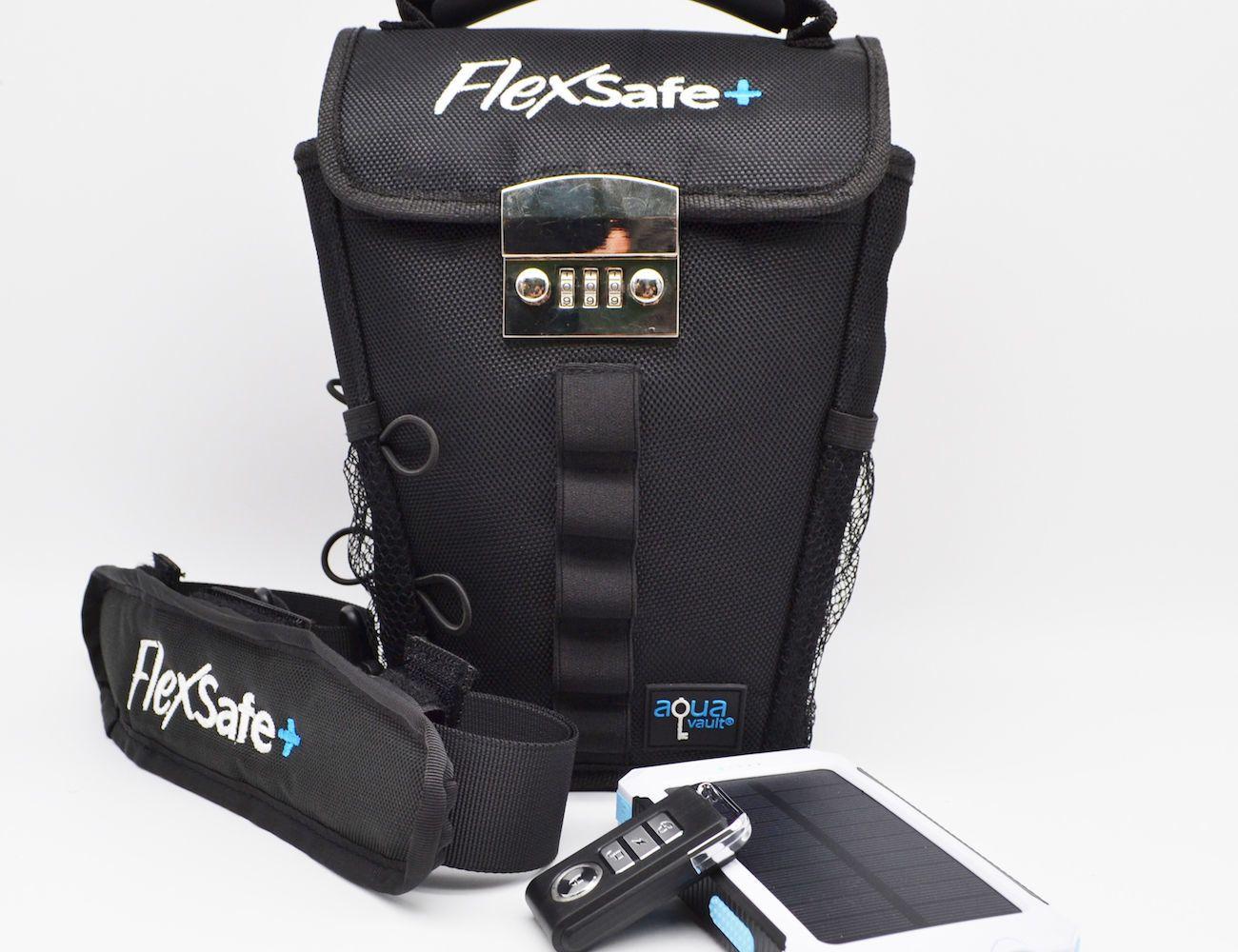 Image result for FlexSafe Plus : The Ultimate Portable Travel Safe