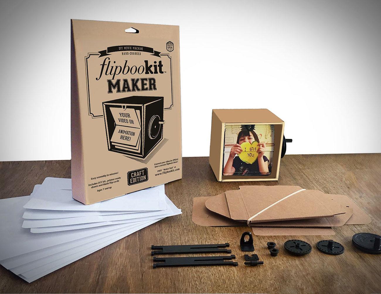 FlipBooKit Personalized Mechanical Flipbook