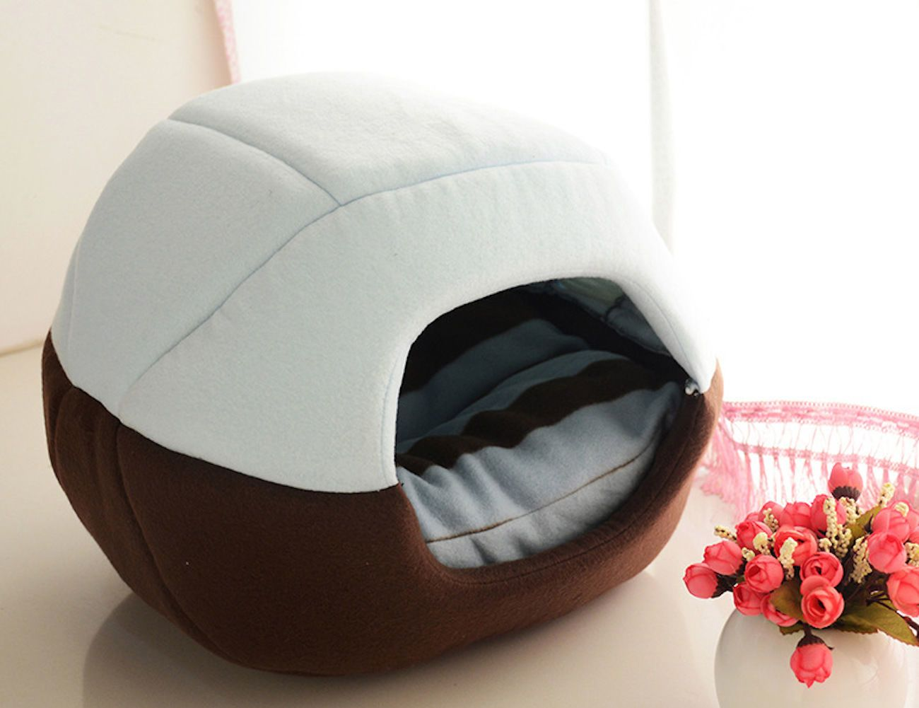 Foldable+Soft+Pet+Bed