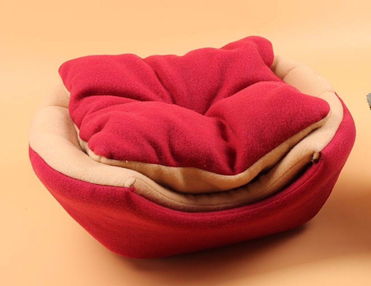 Foldable Soft Pet Bed