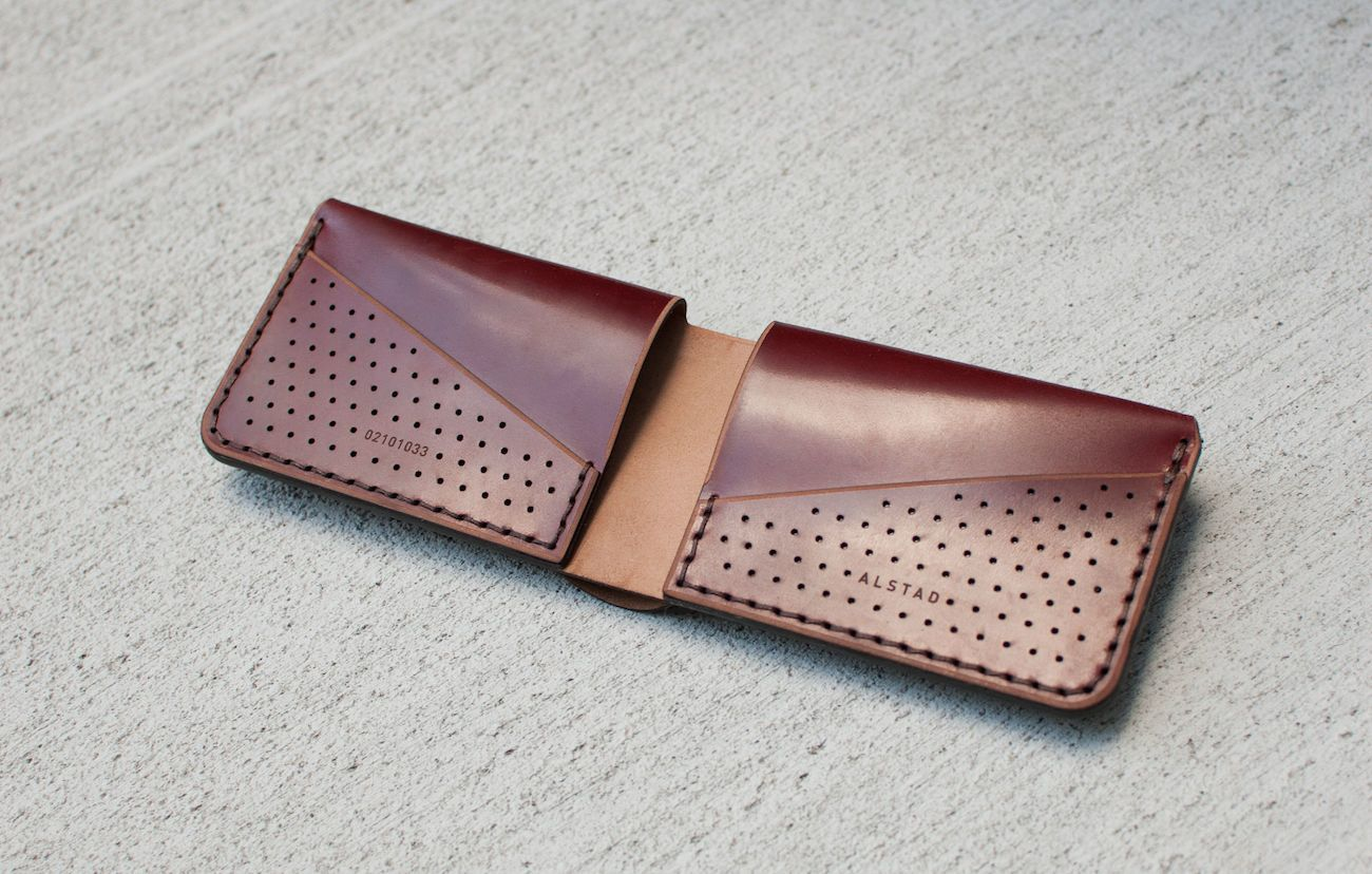 Forsta2.0 LTD Perforated Leather Wallet