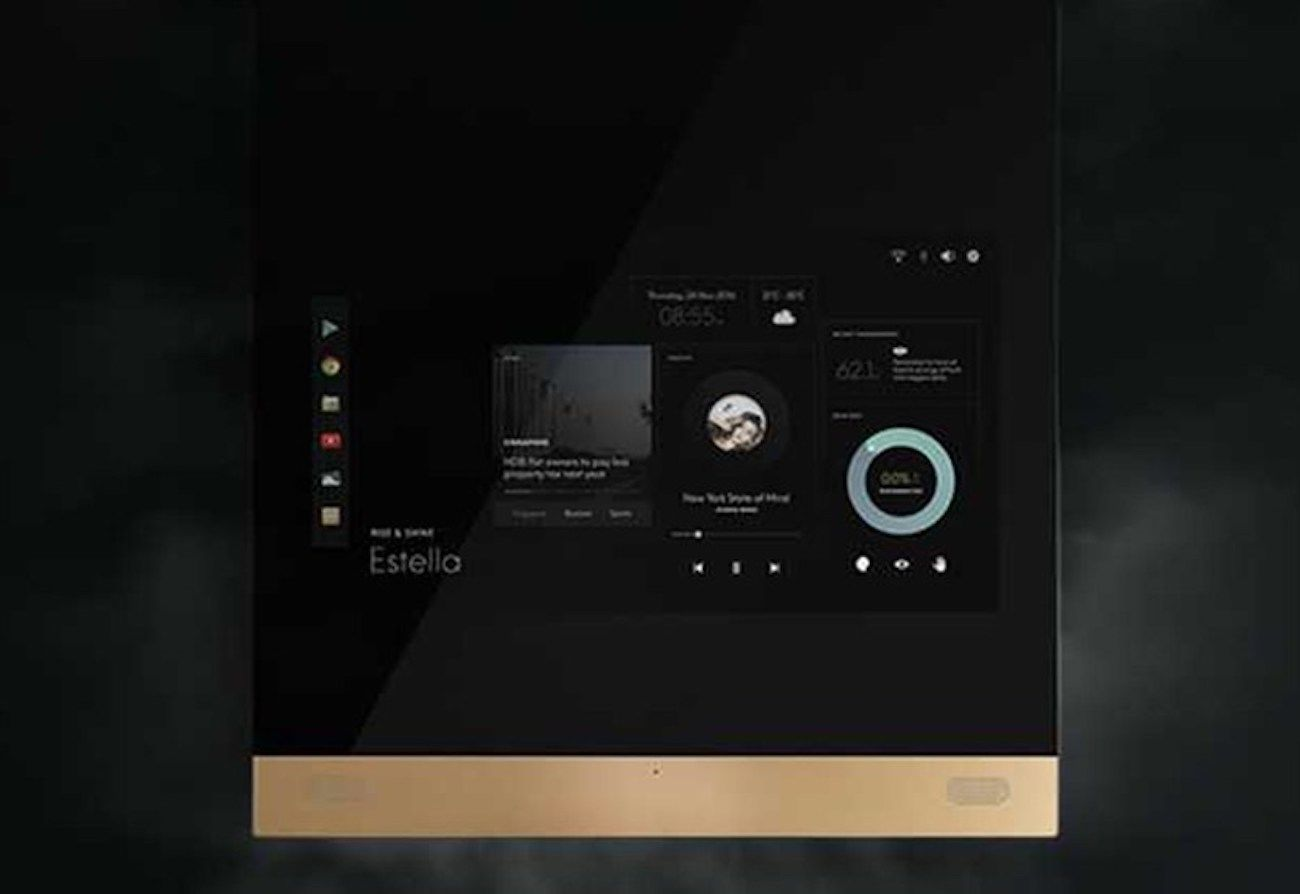 Fred One-Touch Smart Home Mirror