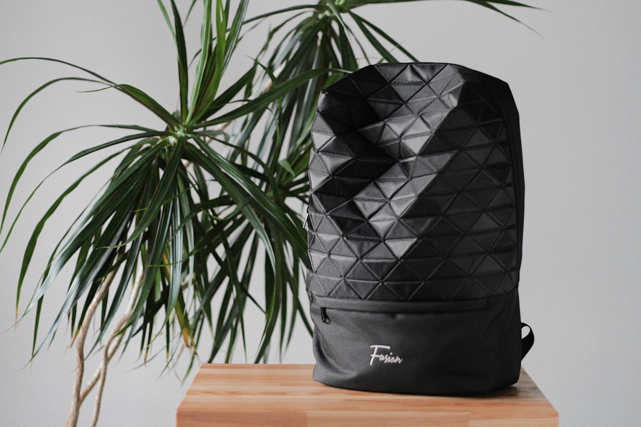Fusion Outline Faceted Backpack