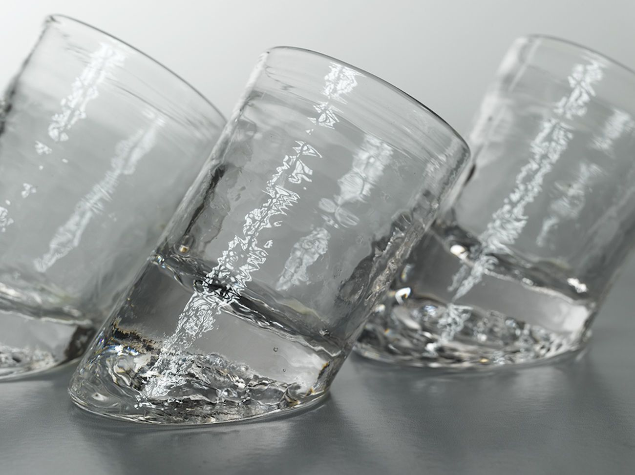 Glassblower Ben Slanted Bar Glasses