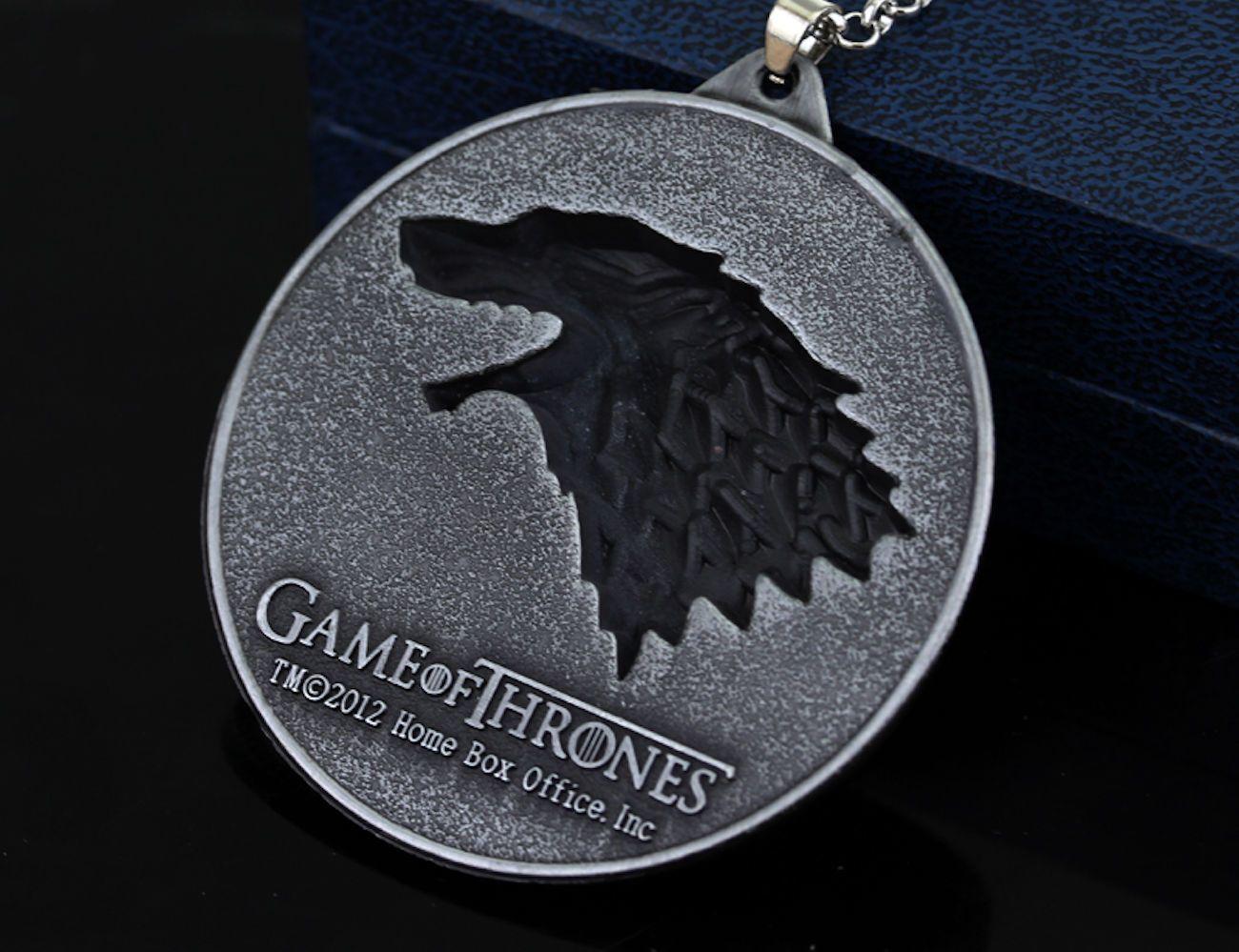 GoT House Stark Pendant