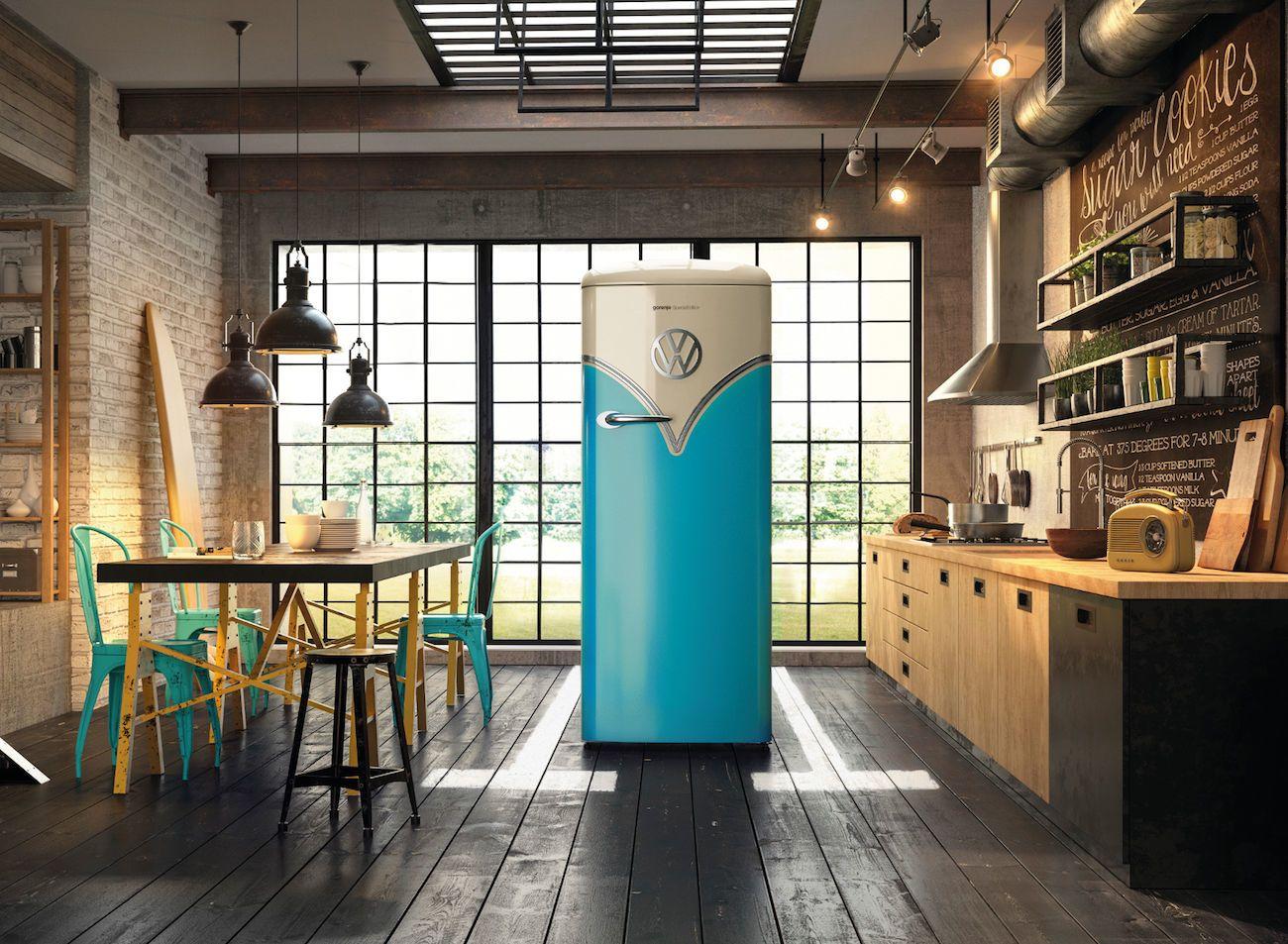 Gorenje Retro Freestanding Refrigerator