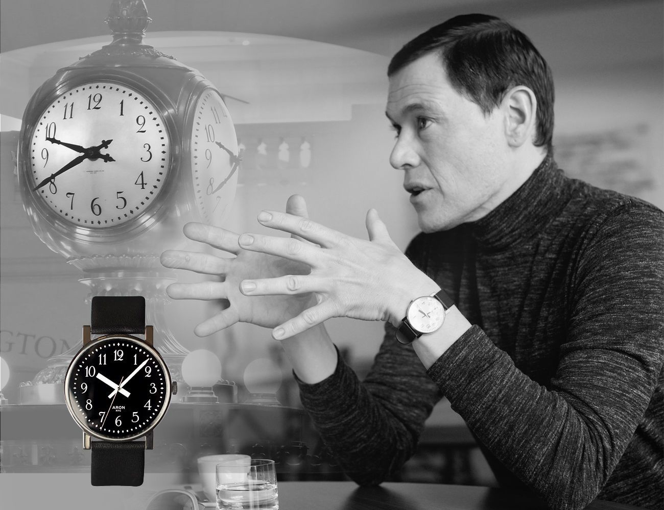 Grand+New+Yorker+Luxury+Timepiece