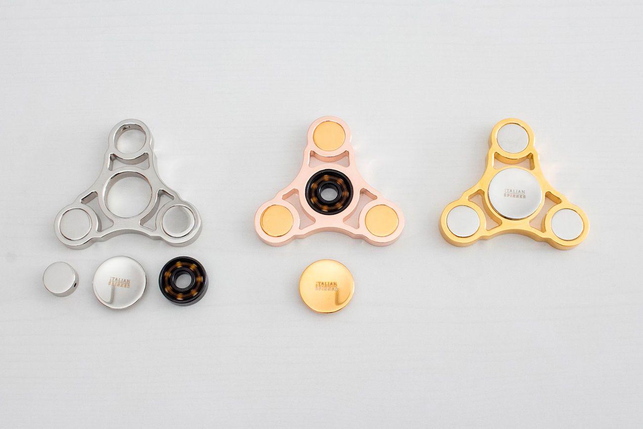 Italian Gold Plated Fidget Spinner