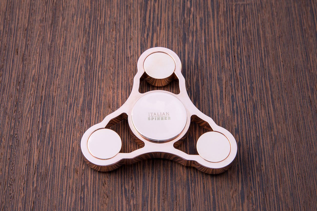 Italian Gold Plated Fidget Spinner