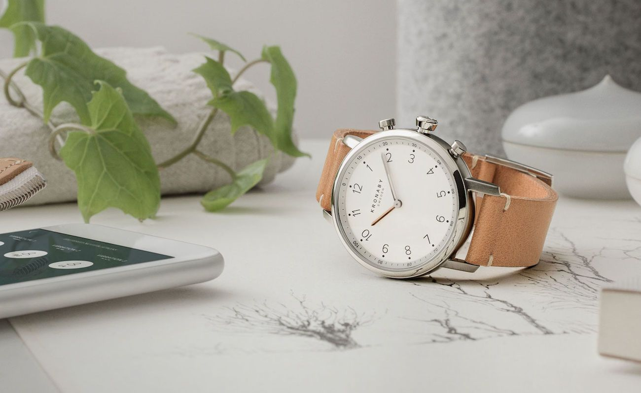 Kronaby Connected Hybrid Smartwatches
