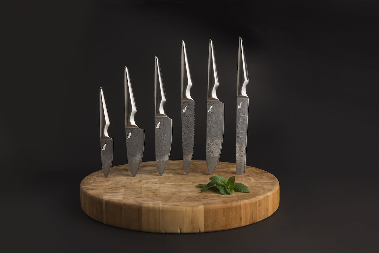 Kuroi+Hana+Japanese+Knife+Collection