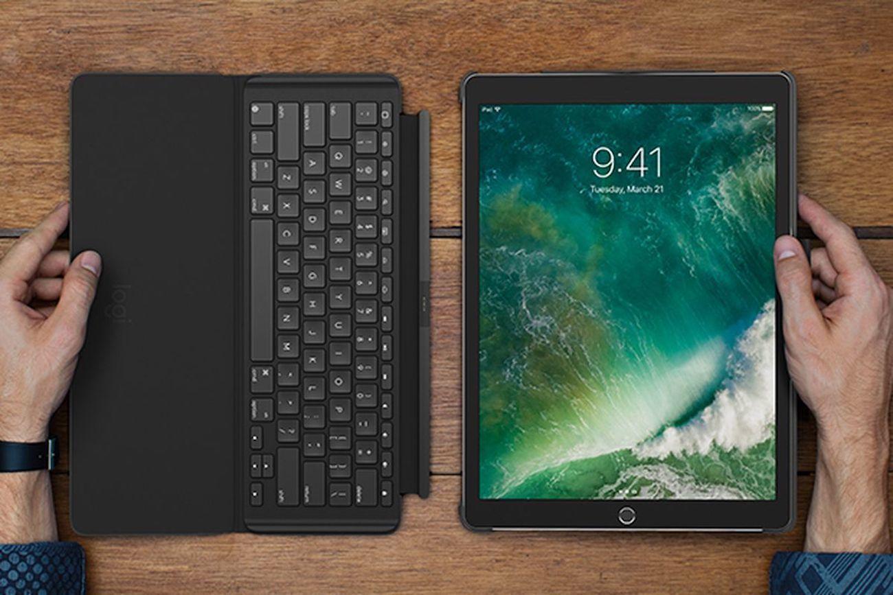 Logitech Slim Ipad Pro Combo 187 Gadget Flow