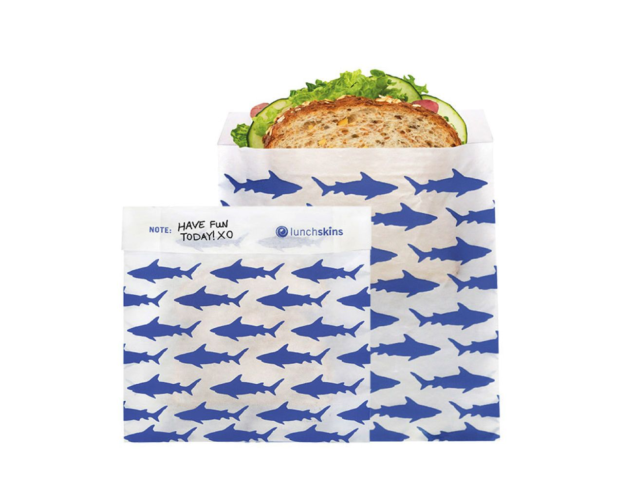 LunchSkins Recyclable and Resealable Sandwich Bags