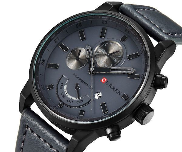 Luxury Leather Watch for Men