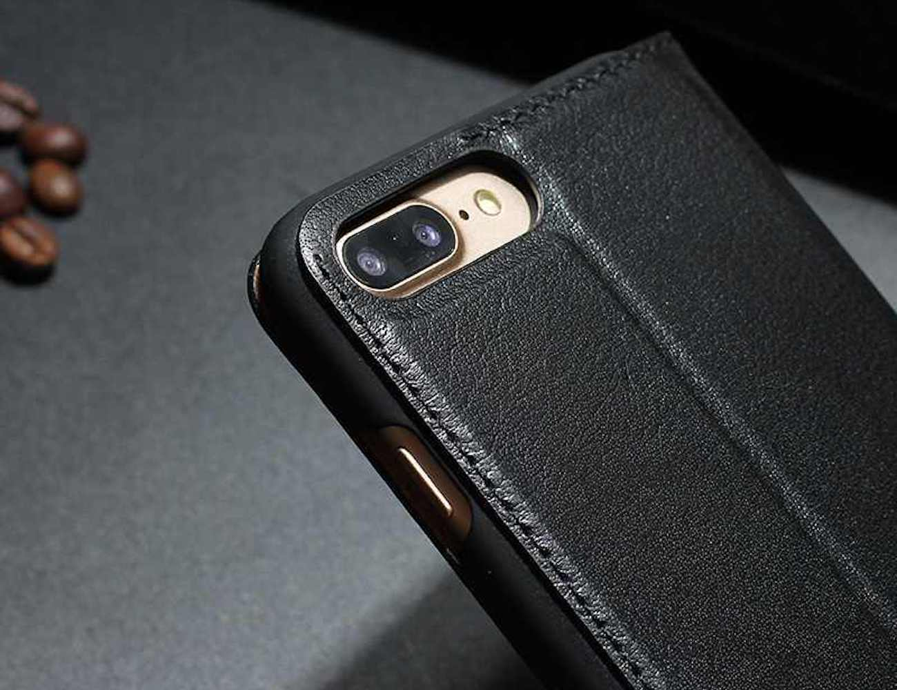 Luxury iPhone 7 Plus Flip Case