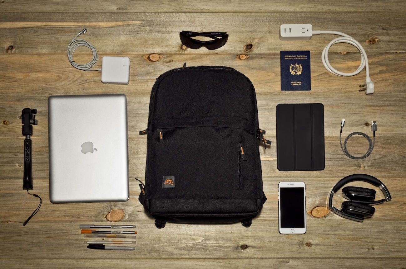 MOS PACK Organizer Charging Backpack