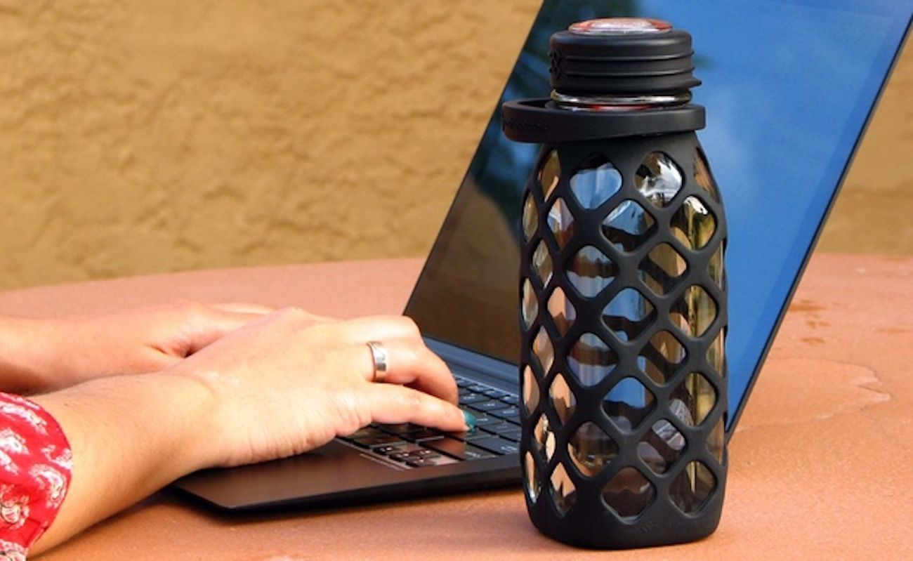 Meshbottle Plastic-Free Water Bottle