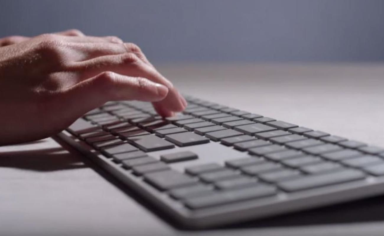 Microsoft Modern Fingerprint ID Keyboard