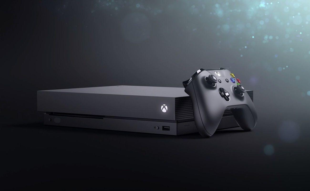 Microsoft+Xbox+One+X