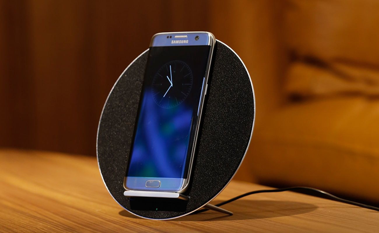 MoonSonata Wireless Charger Speaker System