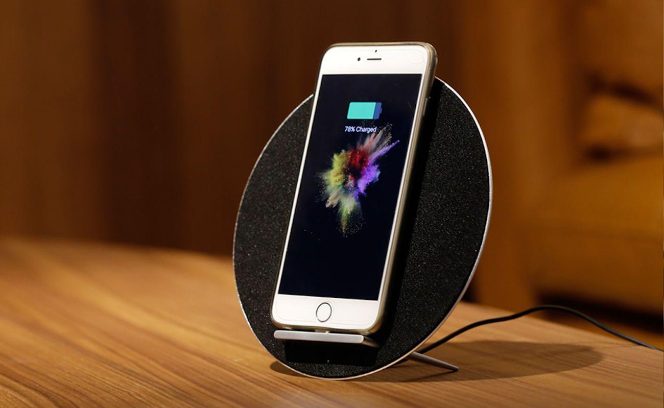 MoonSonata Wireless Charger Speaker System