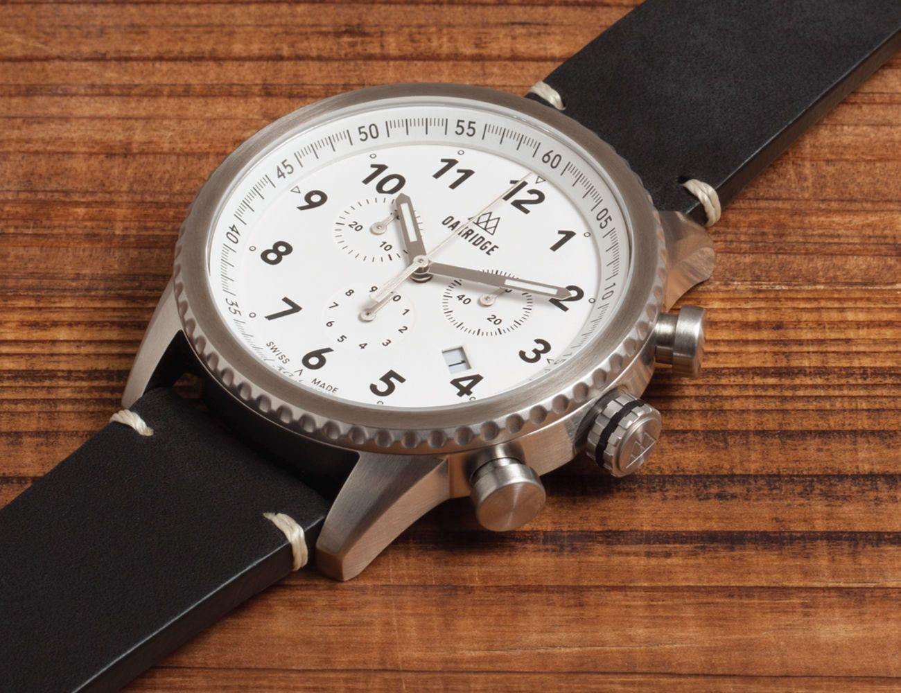 Oakridge Swiss-Made Explorer Watch
