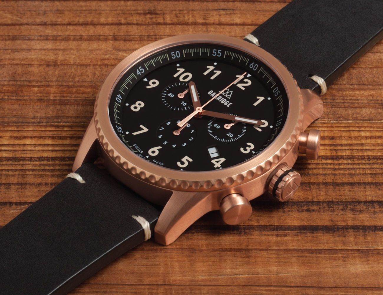 Oakridge Swiss-Made Explorer Watch