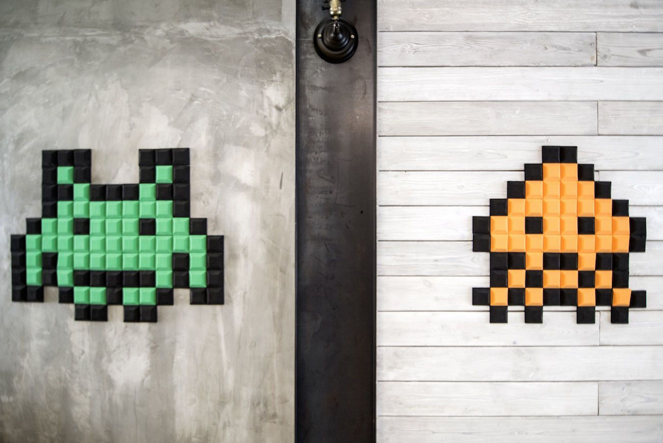 Pelcraft Personalized Pixel Wall Art
