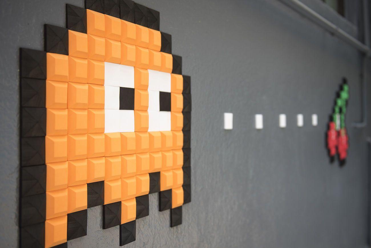 Pelcraft Personalized Pixel Wall Art