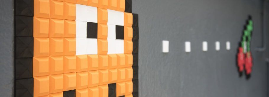 Your Inner Geek Will Be Delighted When You See Pelcraft Pixel Wall Art