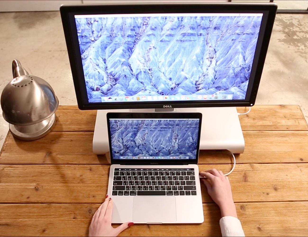 ProBASE HD USB-C Aluminum Monitor Stand by MonitorMate