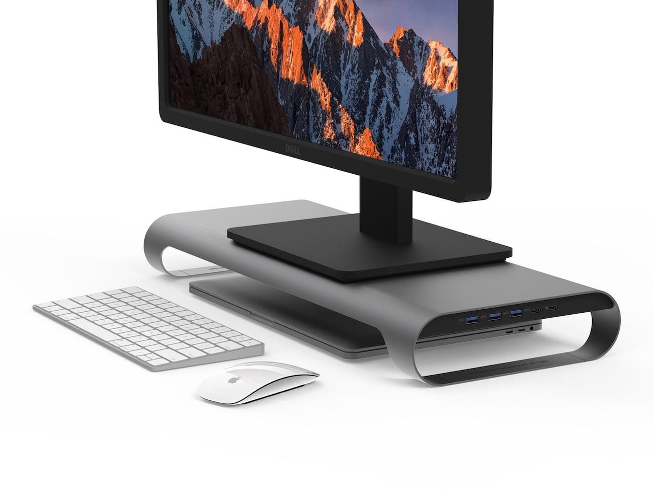 Probase Hd Usb C Aluminum Monitor Stand By Monitormate