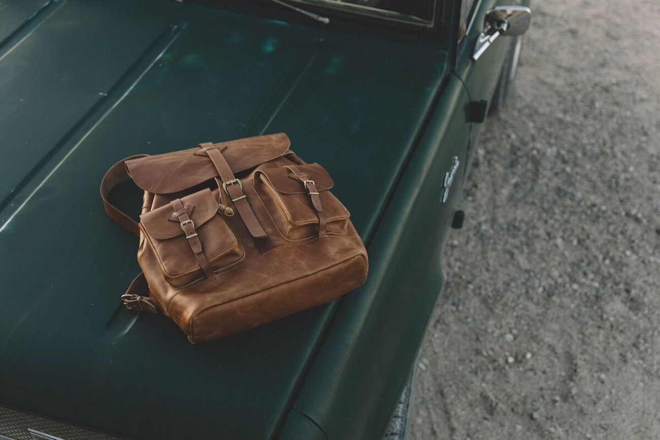 Scout All-Leather Backpack